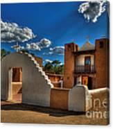 San Geronimo Church Taos Pueblo Canvas Print