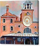San Giacomo Di Rialto Canvas Print