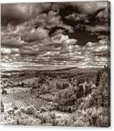 San Gimignano View Canvas Print