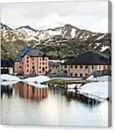 San Gottard Pass Canvas Print