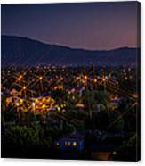 San Jose At Dusk Canvas Print