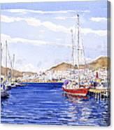 San Jose Marina Canvas Print