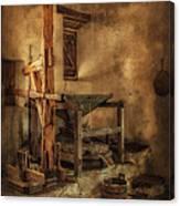 San Jose Mission Mill Canvas Print