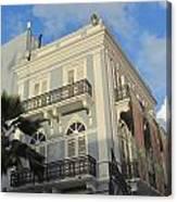 San Juan Architecture 1 Canvas Print