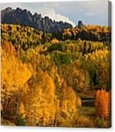 San Juan Mountains In Autumn Canvas Print