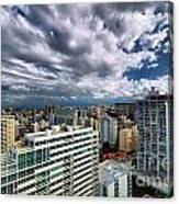 San Juan Puerto Rico Cityscape Canvas Print
