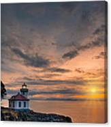 San Juan Sunset Canvas Print
