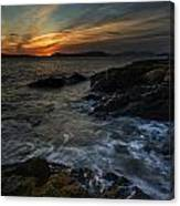 San Juans Sunset Mood Canvas Print