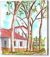 San Luis Obispo Mission In San Luis Obispo, California Canvas Print