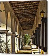 San Luis Rey Mission - California Canvas Print