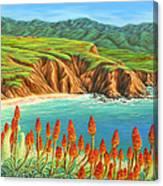 San Mateo Springtime Canvas Print