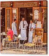 San Miguel - Waiting For Customers Canvas Print