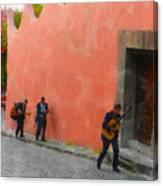 San Miguel De Allende Mexico Streets Canvas Print