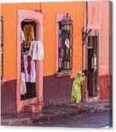 San Miguel Shop Canvas Print