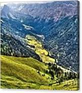 San Nicolo' Valley - Italy Canvas Print