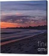 San Onofre - Last Light Canvas Print