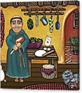 San Pascuals Kitchen Canvas Print