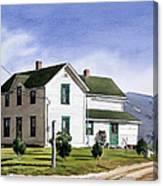 San Pasquale House Canvas Print