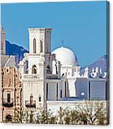 San Xavier Del Bac Mission Canvas Print