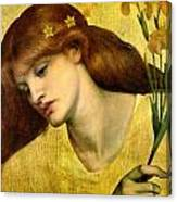 Sancta Lilias 1874 Canvas Print