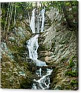 Waterfall - Sanctuary At Savoy Mountain Canvas Print