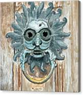 Sanctuary Knocker Canvas Print