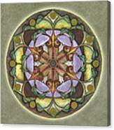 Sanctuary Mandala Canvas Print