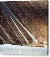 Sand Abstract, Hunder, 2006 Canvas Print