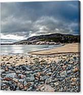 Sand Beach At Acadia Canvas Print