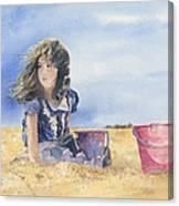 Sand Castle Dreams Canvas Print