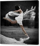 Sand Dance Canvas Print
