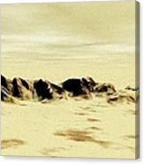 Sand Desert Canvas Print