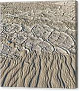 Sand Dunes Like Fine Cloth Canvas Print