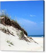 Sand Dunes Of Corolla Outer Banks Obx Canvas Print
