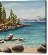 Sand Harbor Lake Tahoe Canvas Print