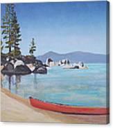Sand Harbor - Lake Tahoe Canvas Print