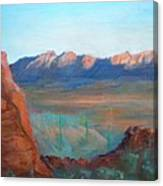 Sand Hollow Panorama Canvas Print