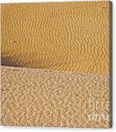 Sand Layers Canvas Print