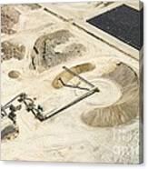 Sand Mine, South Africa Canvas Print