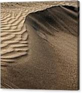 Sand Pattern Abstract - 2 Canvas Print
