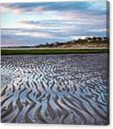 Sand Ripples Canvas Print