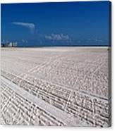 Sand Trails Canvas Print