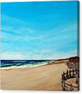 Sandbridge Virginia Beach Canvas Print