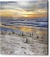 Sandcastle Sunrise Canvas Print