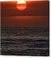 Sandi's Sunset By Diana Sainz Canvas Print