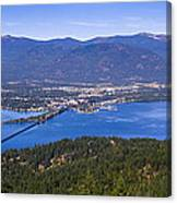 Sandpoint From Trail 3  -  110923-021 Canvas Print