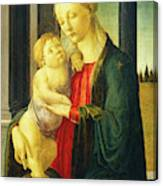 Sandro Botticelli, Madonna And Child, Italian Canvas Print