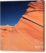 Sandstone Bands Canvas Print