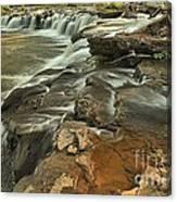 Sandstone Falls Canvas Print