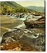 Sandstone Falls Landscape Canvas Print